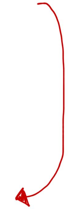 long arrow down