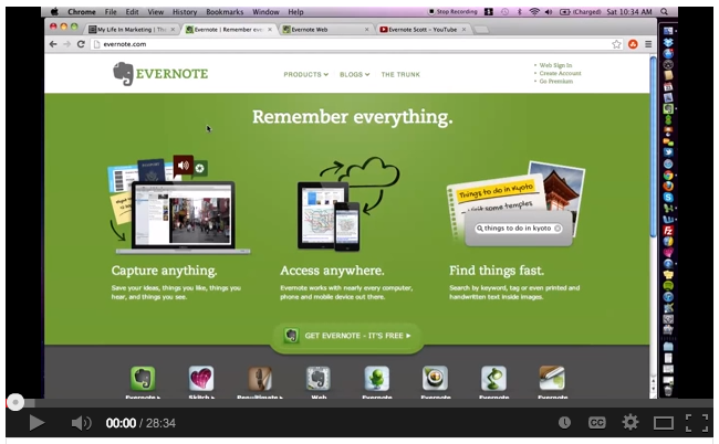 SBC Campaign Evernote